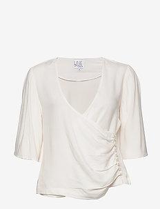 Beth solid - t-shirts - creme