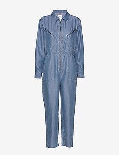 Bondi tencel - jumpsuits - blue