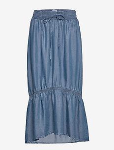 Clementine tencel - midi kjolar - denim