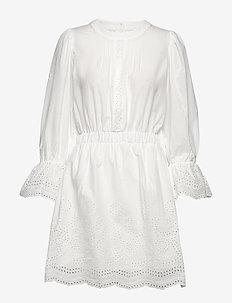 Neo lace - korta klänningar - white