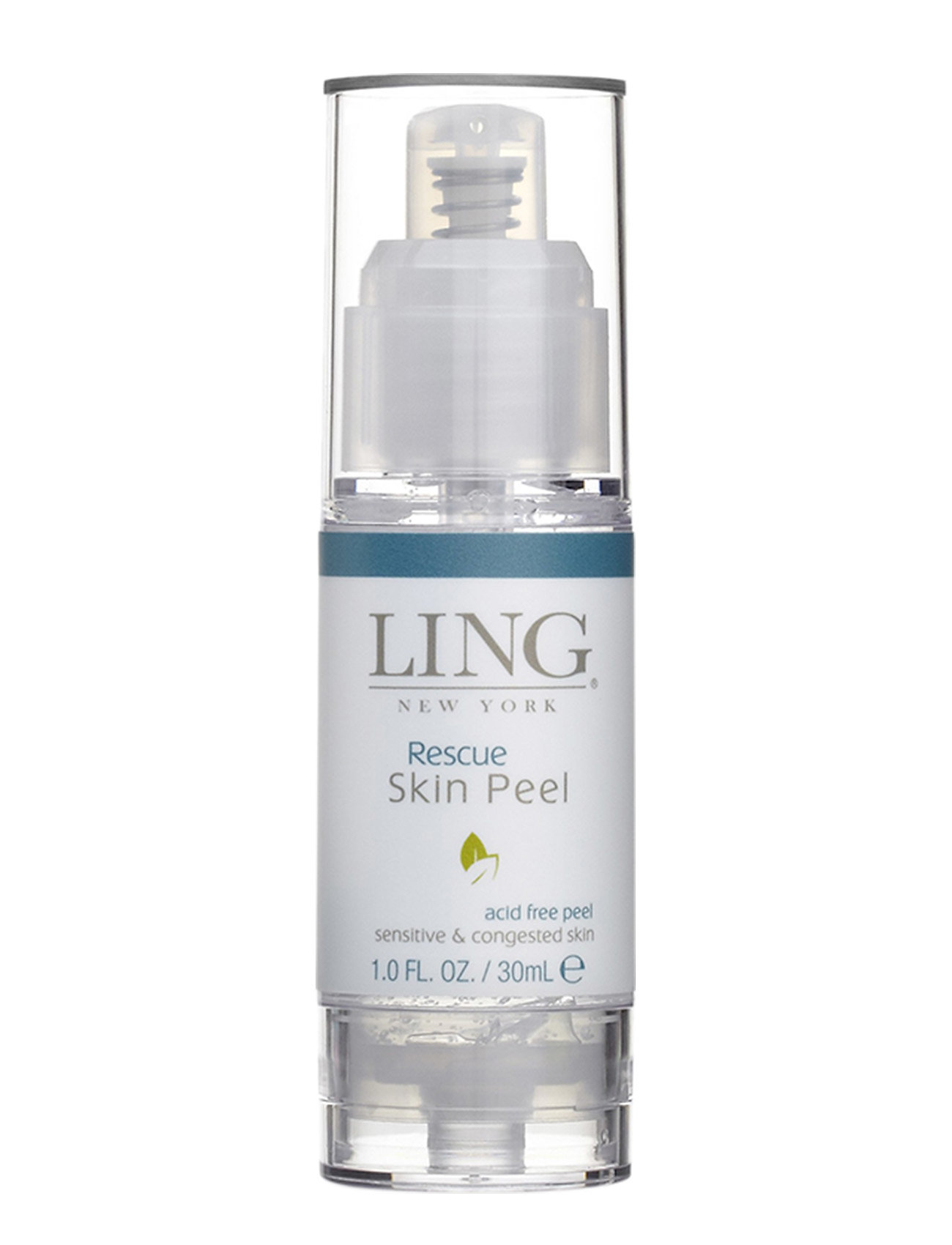 LING New York Rescue Skin Peel - acid free peel - CLEAR