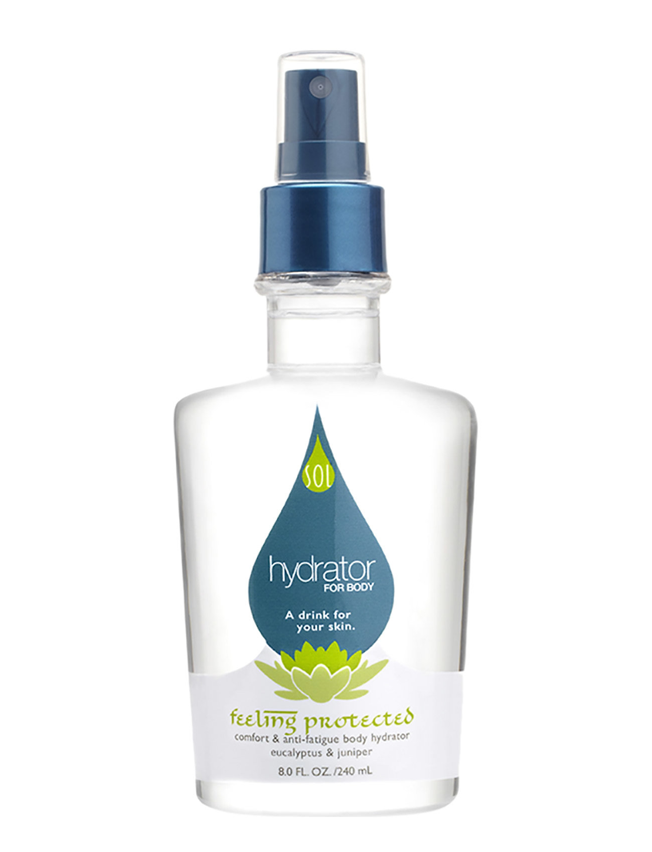 LING New York FeeLING Protected Body Hydrator - comfort & anti-fatigue - CLEAR