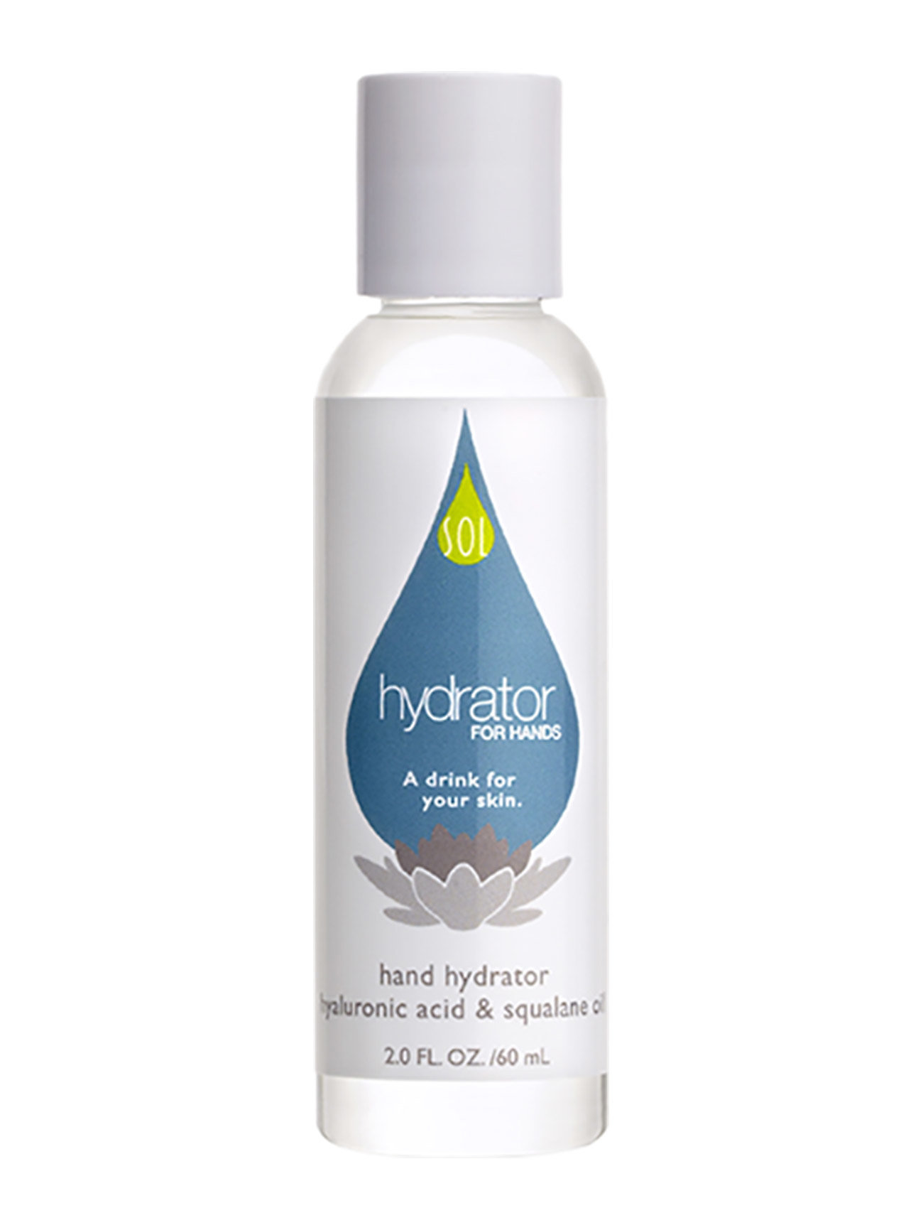 LING New York Hand Hydrator - hyaluronic acid & squalane oil - CLEAR