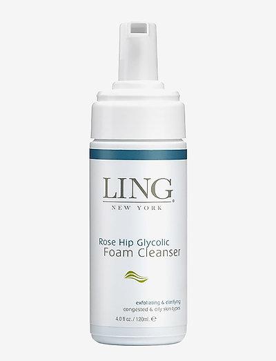 Rose Hip Glycolic Foam Cleanser - exfoliating & clarifying - CLEAR