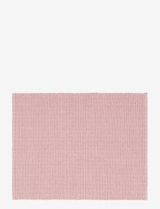 UNI PLACE MAT RIB - bordbrikker, glassunderlag & bordskånere - dusty pink