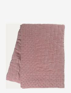 PAOLO BEDSPREAD - tepper - dusty pink