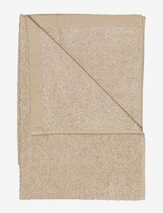 EAST BATH TOWEL 100X150 - handdoeken en badhanddoeken - linen beige