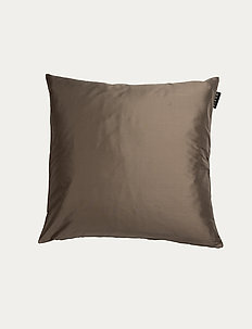 SILK CUSHION COVER - pudebetræk - dark mole brown
