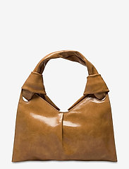Little Liffner - KNOT EVENING BAG - väskor - tan - 1