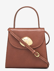 BAGUETTE MINI - top handle - dark brown