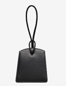 LOOP BAG - top handle - black