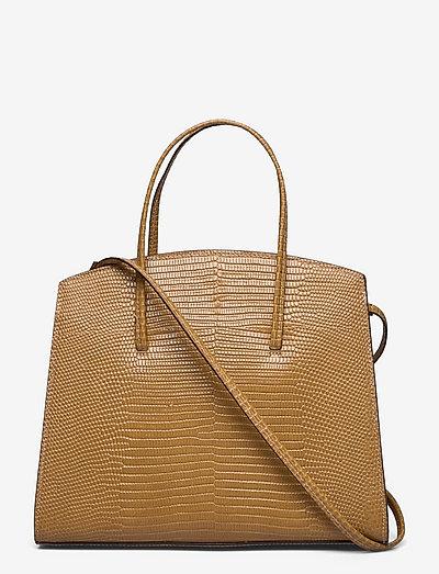 MINIMAL MINI TOTE - väskor - light brown