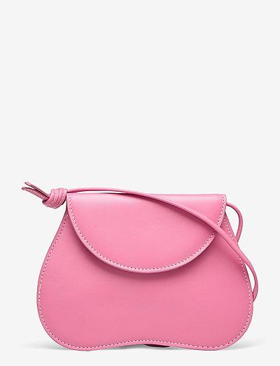 PEBBLE MICRO BAG - laukut - pink