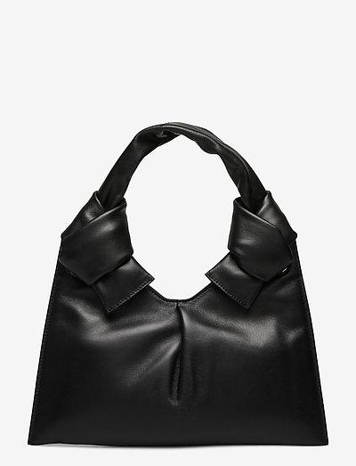 KNOT EVENING BAG - laukut - black