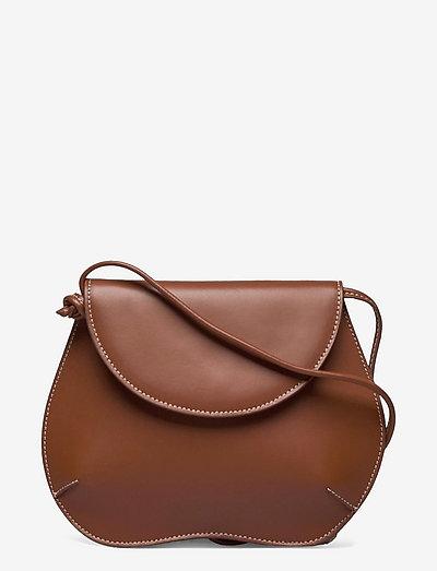 PEBBLE MINI BAG - väskor - light brown