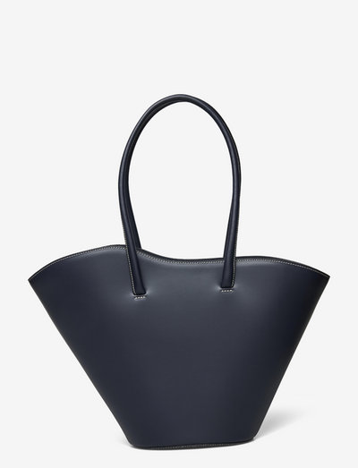 TALL TULIP TOTE - shoppingväskor - space blue