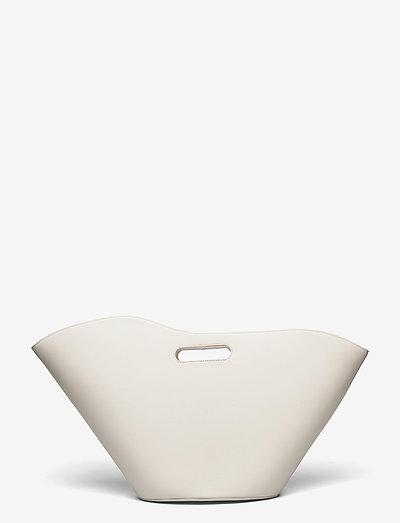 NO HANDLE TULIP TOTE - väskor - marble