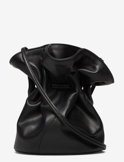MINI VASE BAG - bucketväskor - black