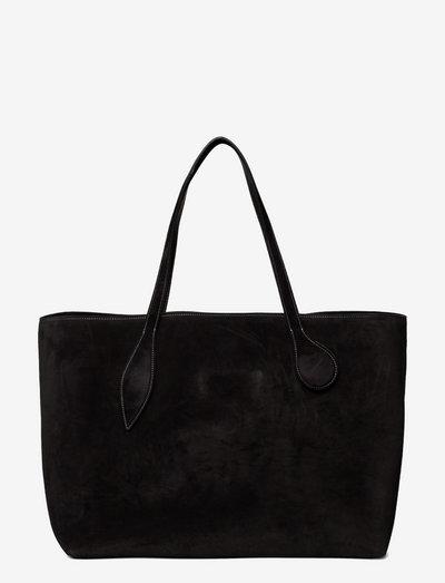 MEGA SPROUT TOTE - shoppingväskor - black