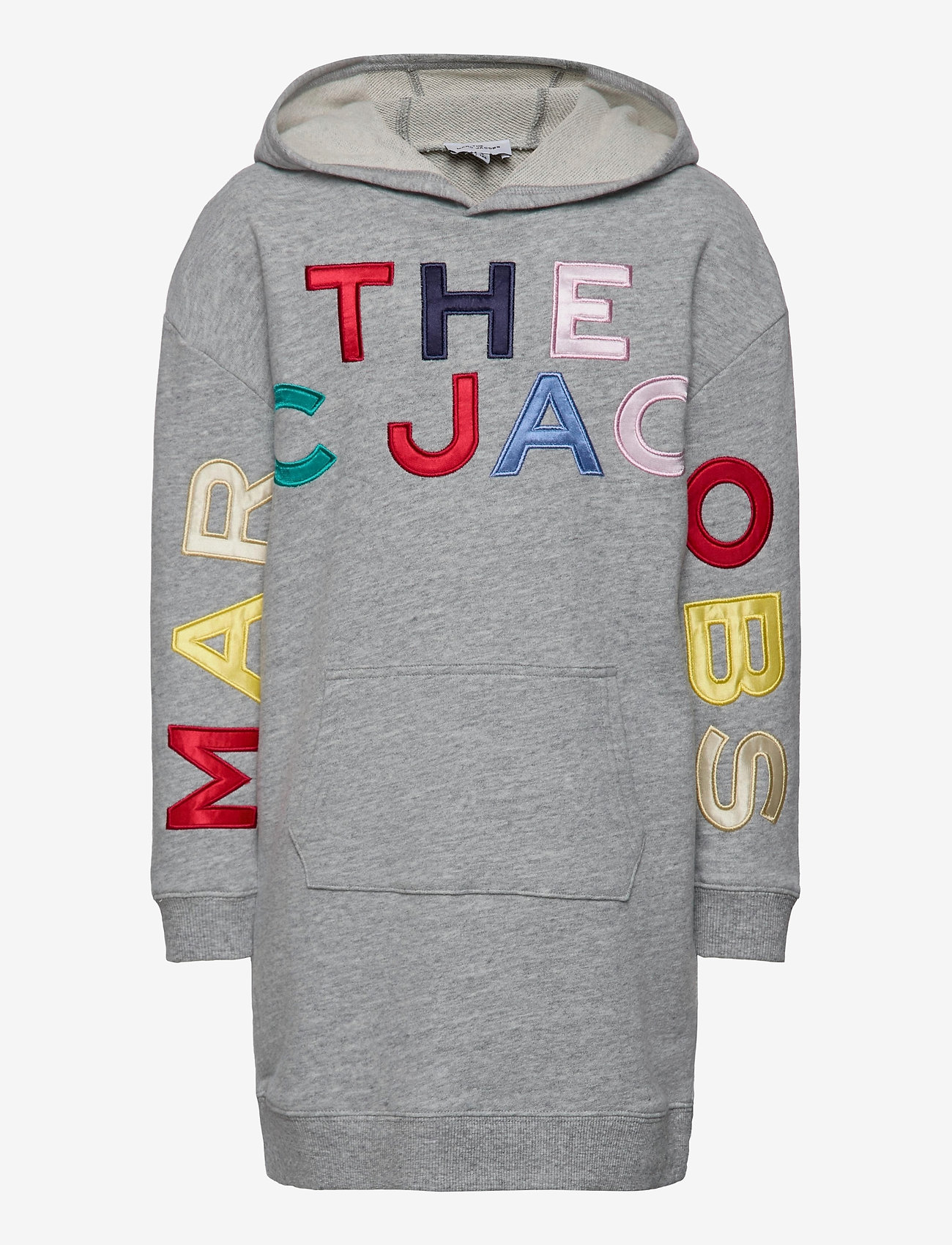 Little Marc Jacobs - HOODED DRESS - robes - chine grey - 0