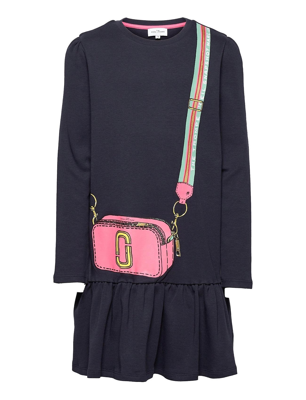 Dress Kjole Blå Little Marc Jacobs