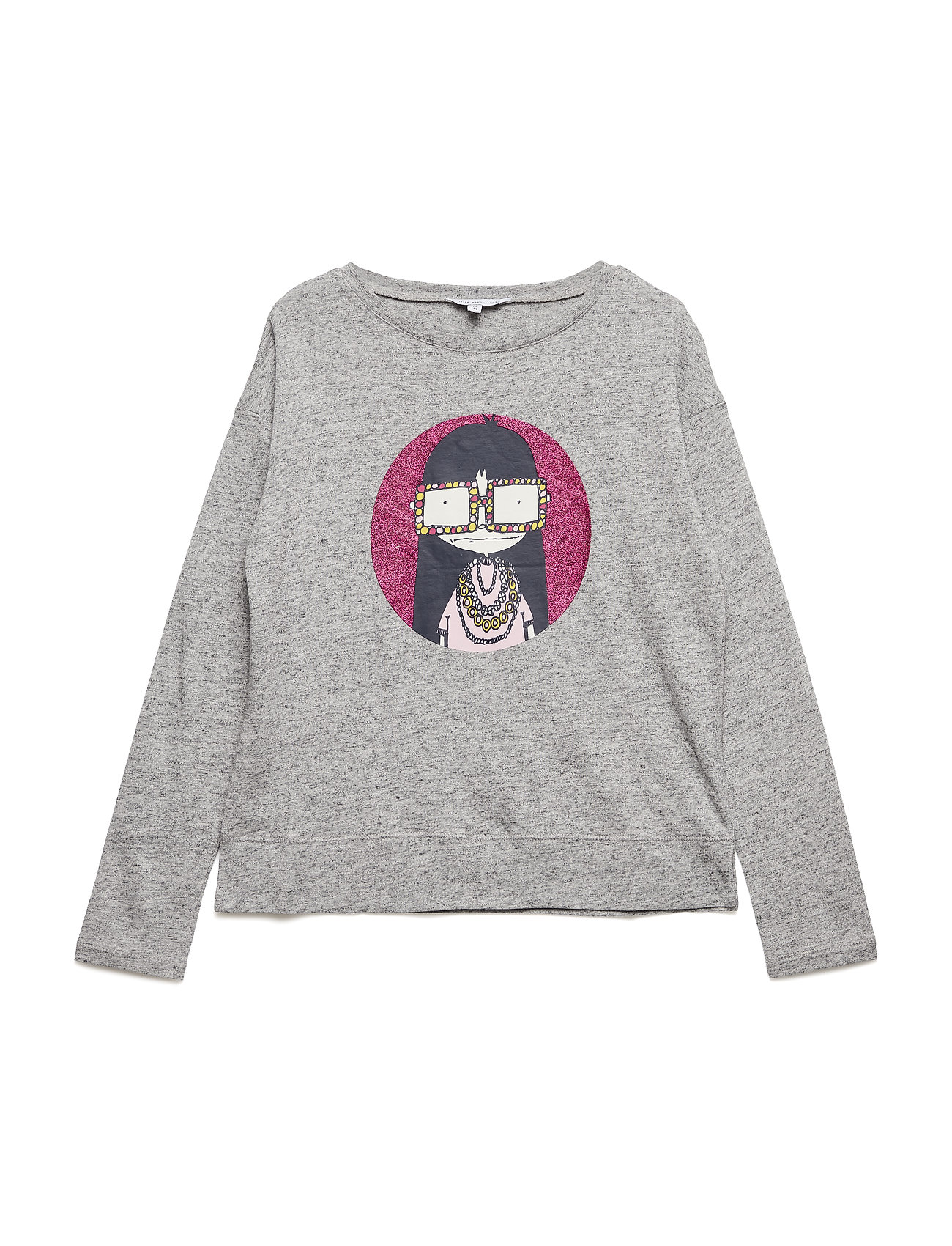 Little Marc Jacobs LONG SLEEVE T-SHIRT - CHINE GREY