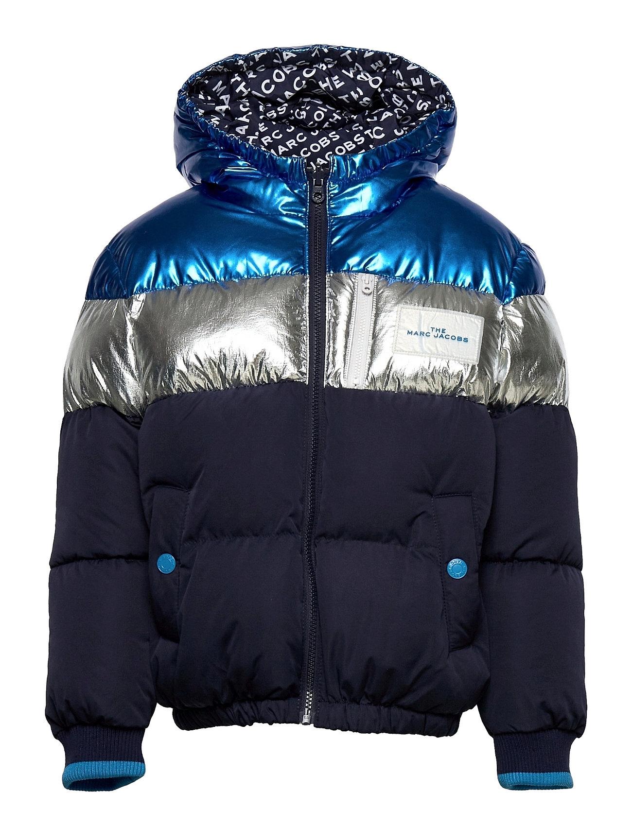 Reversible Puffer Jacket Foret Jakke Blå Little Marc Jacobs