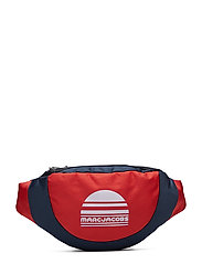 BUM BAG - RED/BLUE NAVY