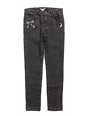 TROUSERS - DENIM BLACK