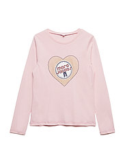 LONG SLEEVE T-SHIRT - PINK  WASHED PINK