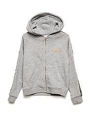 CARDIGAN SUIT - CHINE GREY