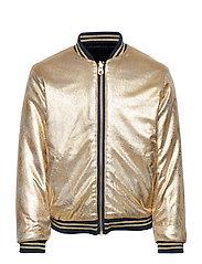 Reversible Jacket Bomberjacka Guld LITTLE MARC JACOBS