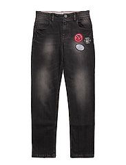 DENIM TROUSERS - Z21 DENIM BLACK LAVE