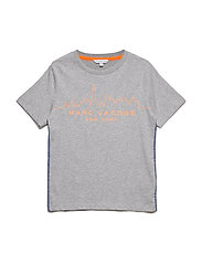 T-SHIRT - GREY MARL