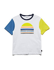 T-SHIRT - WHITE  YELLOW