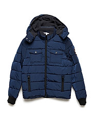 PUFFER JACKET - DARK INDIGO