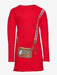 DRESS - BRIGHT RED