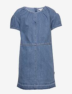 DENIM DRESS - sukienki - bleach