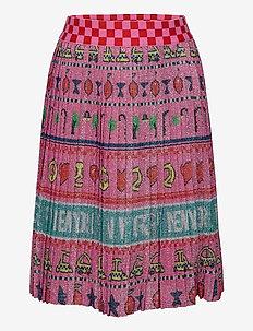 SKIRT - kjolar - pink