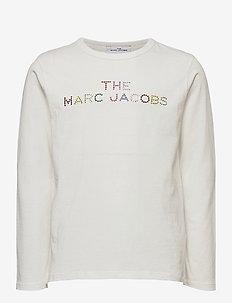 LONG SLEEVE T-SHIRT - langermede t-skjorter - offwhite