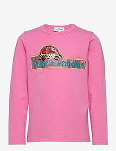 LONG SLEEVE T-SHIRT - langermede t-skjorter - pink
