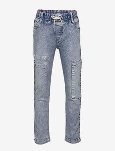 DENIM TROUSERS - jeans - bleach