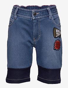 BERMUDA SHORTS - shorts - denim blue