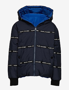 REVERSIBLE PUFFER JACKET - puffer & padded - navy  blue
