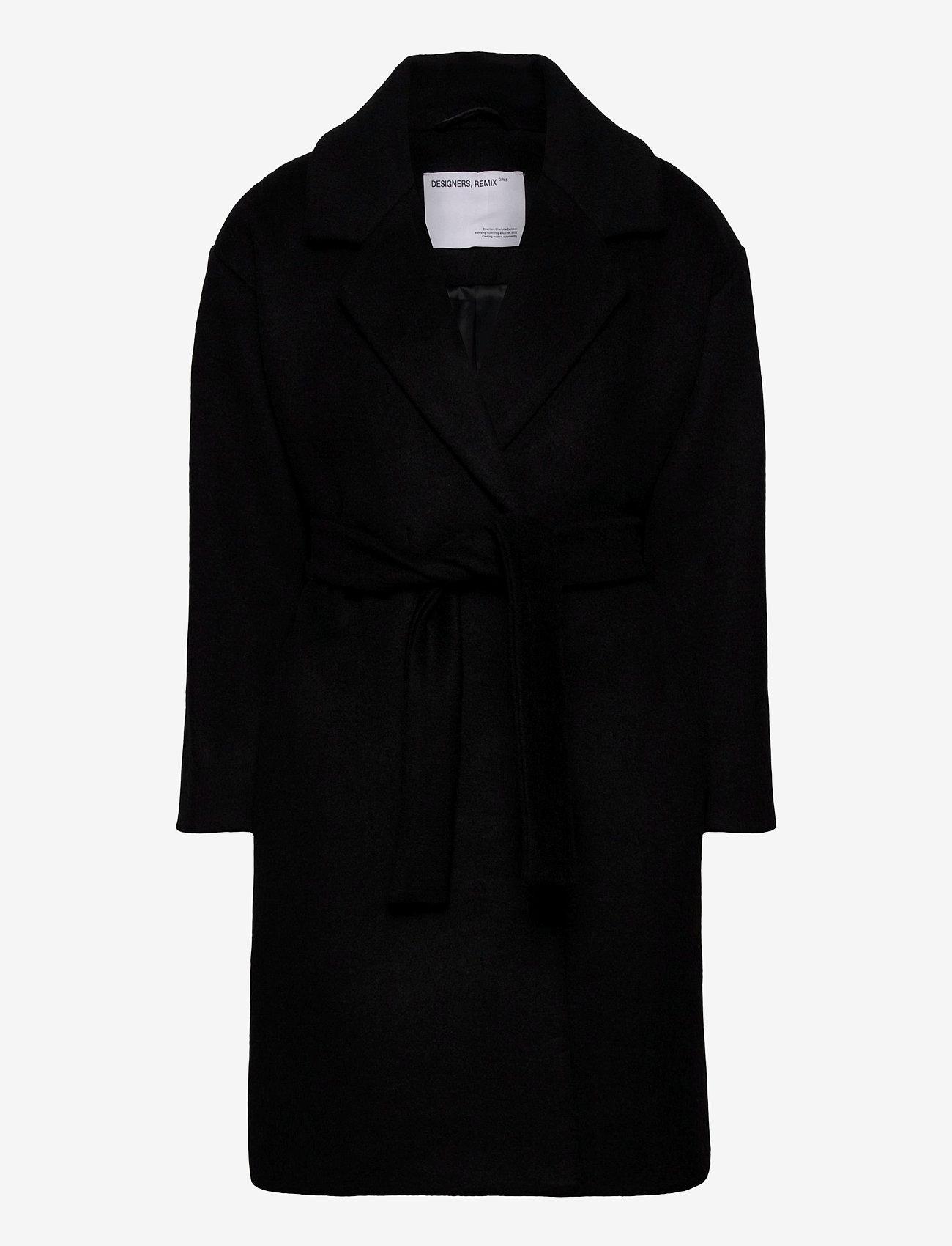Designers Remix Girls - G Julie Coat - ull-klær - black - 0