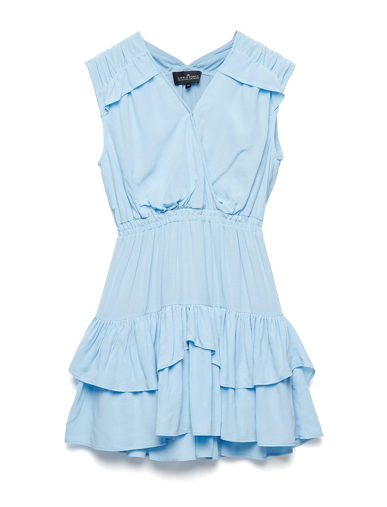 a8816b83595a Sort Little Remix Lr Nini Ruffle Dress kjoler for børn - Pashion.dk