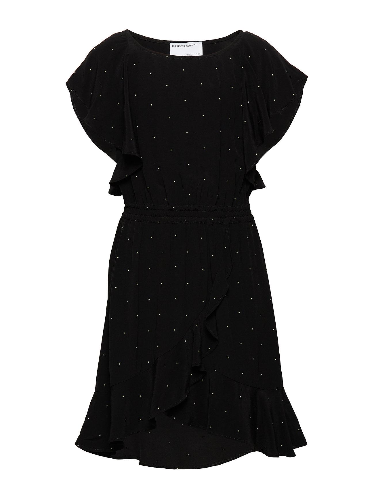 Designers Remix Girls LR Leana Wrap Dress - PRINT