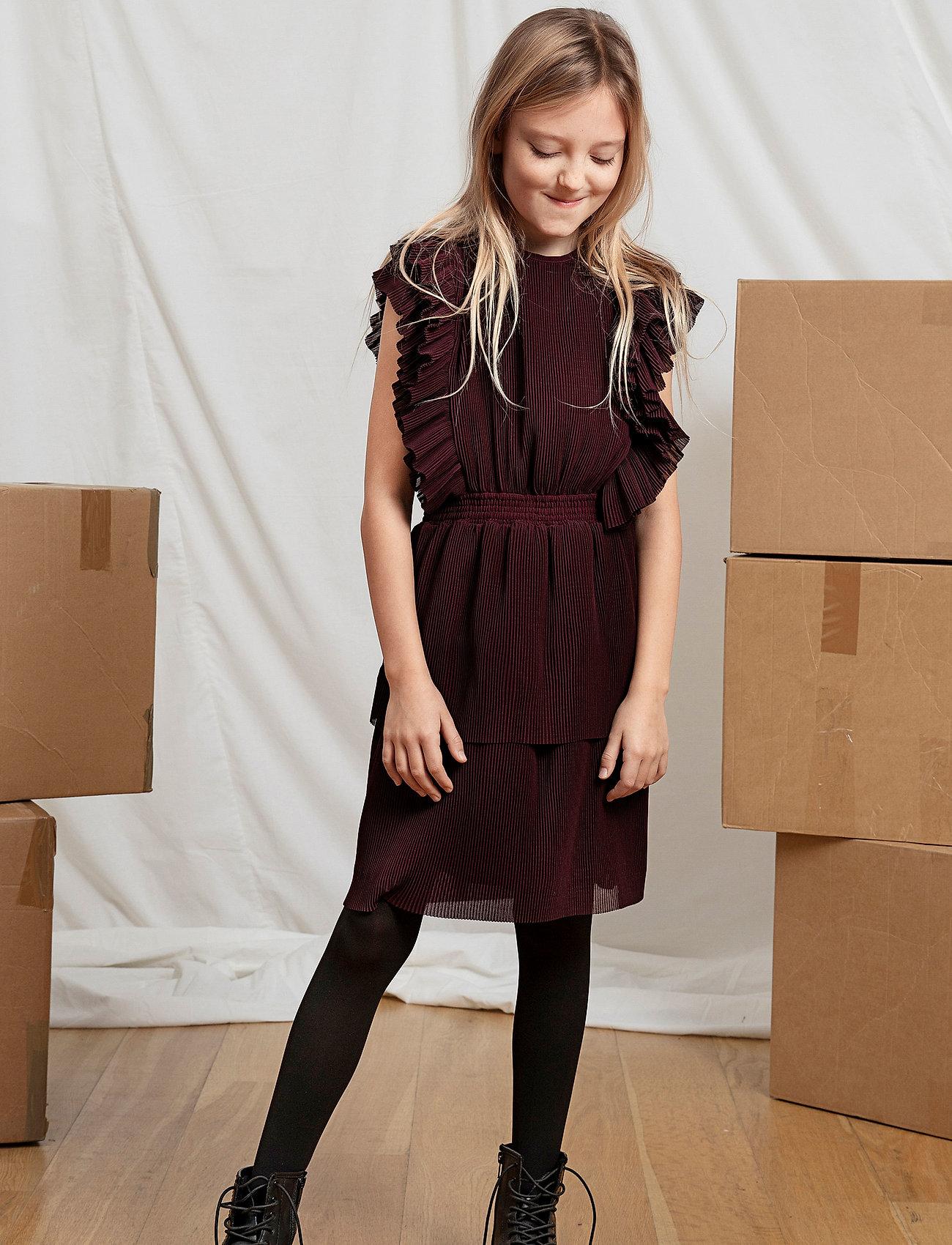 Designers Remix Girls - LR Kennedy Dress - mekot - rouge noir