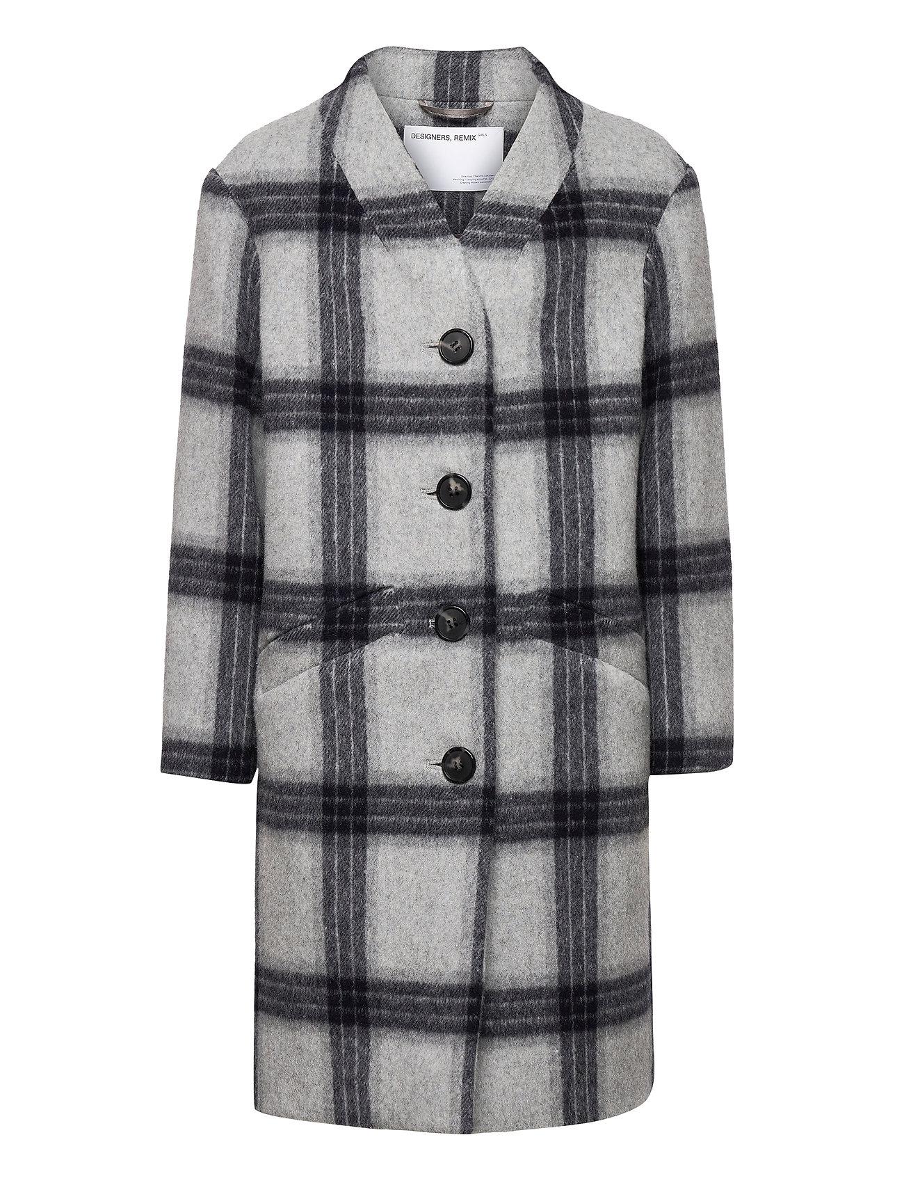 Image of G Amara Coat Outerwear Wool Outerwear Grå Designers Remix Girls (3490090637)
