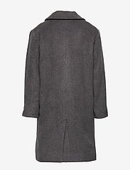 Designers Remix Girls - LR Hardy Coat - uldtøj - dark grey melange - 2